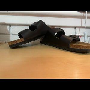 Birkenstock Arizona Size 44 Black Narrow Fit